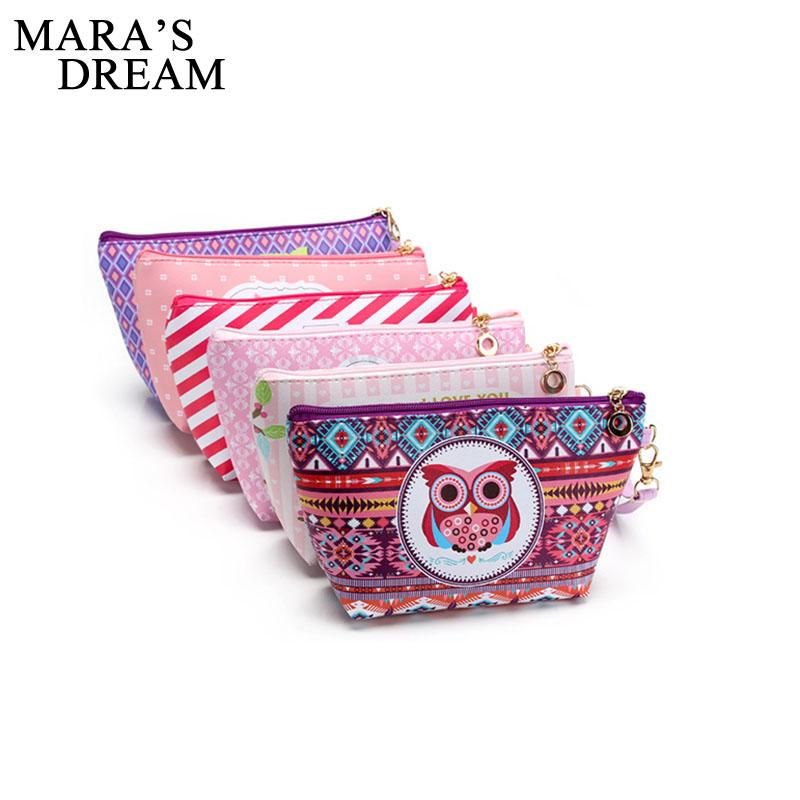 45c5c4a84dcb Mara s Dream Owl Makeup Bags Organizer Cosmetic Bag Women Pouchs For Travel  Ladies Neceser Make Up Bag Pencil Case UK 2019 From Murie