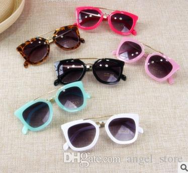 70c8bfafd84 New Brand Designer Kids Round Sunglasses Children Girls Cute Mirror Baby  UV400 Mirror Kawaii Sun Glasses Gafas Infantil De Sol Locs Sunglasses  Suncloud ...