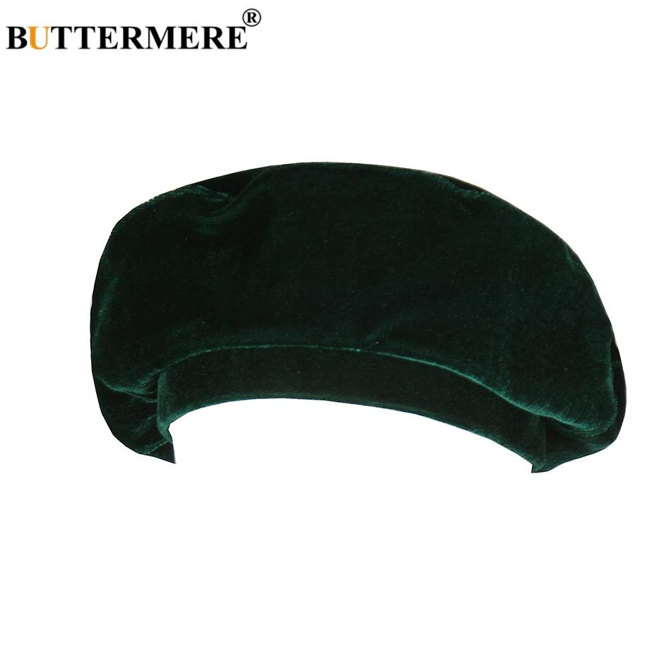 337443a21ba 2019 BUTTERMERE Green Beret Women Velour Soft Painters Hat Ladies Solid  Cute French Artist Cap Classic Autumn Winter Berets Hat Gray From Baozii