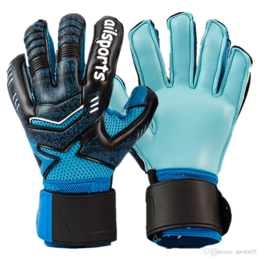 2018 New Goalkeeper Gloves Kids Men Women Soccer Gloves Breathable Non Slip  Latex Finger Bone Football Guard Gloves Guantes De Portero UK 2019 From  Sports09 ... d6404b8bd