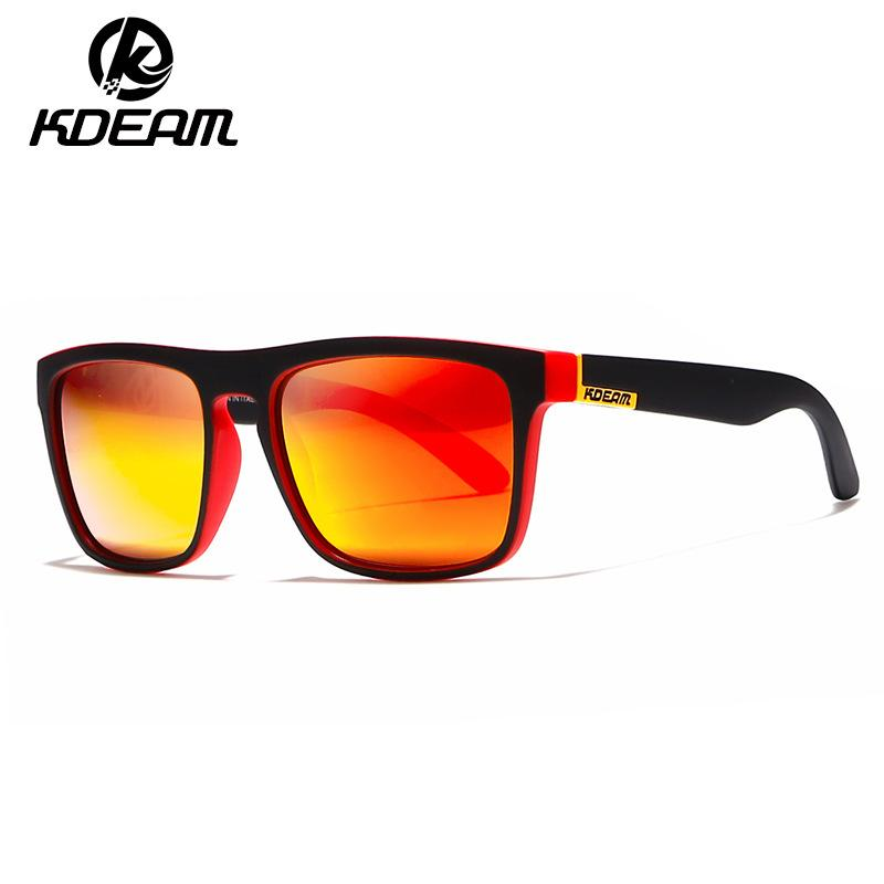 40c38cdd17 KDEAM Polarized Sunglasses Men Women Driving Square Frame Sun Glasses Male  Goggle UV400 Gafas De Sol KD156 Hotsale Polarized Sunglasses Sunglasses For  Men ...
