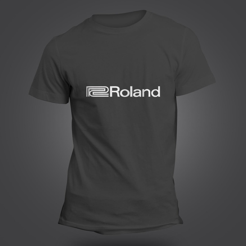 Roland T-shirt - Tb 303 808 Tr 909 707 Studio