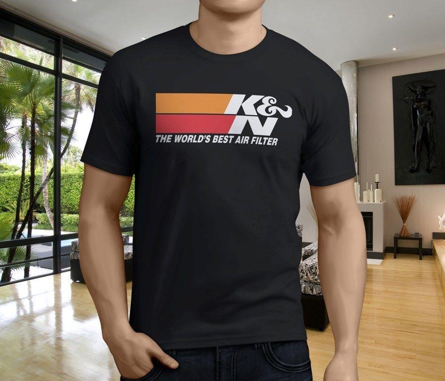 KampN KNN High Performance Flame Arrestors Air Filters Men s Black T-Shirt  S-3XL