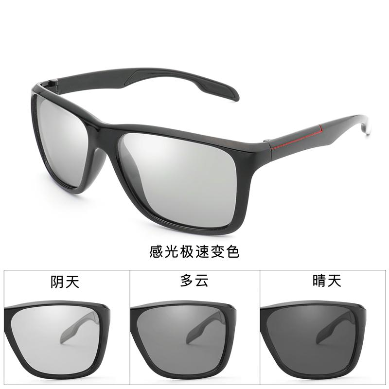 8221c4596b 2018 New Fashion Polarized Vintage Photochromic Sunglasses Men HD Male  Eyewear Square Driving Outdoor Glasses Oculos De SolC1037 Heart Sunglasses  Circle ...