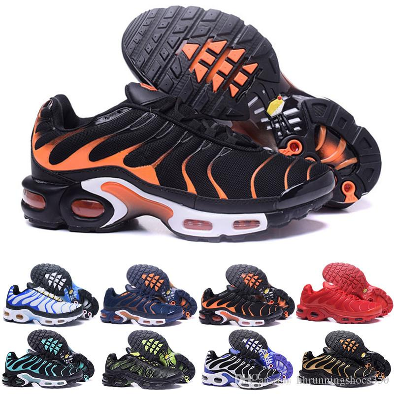 e24bbd9fb6c Acquista Nike TN Plus Vapormax Air Max Airmax 2018 Tn Plus Scarpe Casual Da  Uomo Nero Triple Argento Metallizzato Bianco Con Scarpe Tn Plus Trainer  Sneaker ...