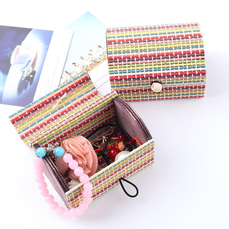 2018 Fashion 2018 Ring Necklace Earrings Bamboo Wooden Jewelry Storage Boxes  Makeup Organizer Cosmetic Hot Selling Storage Container From  Instrumenthome, ...