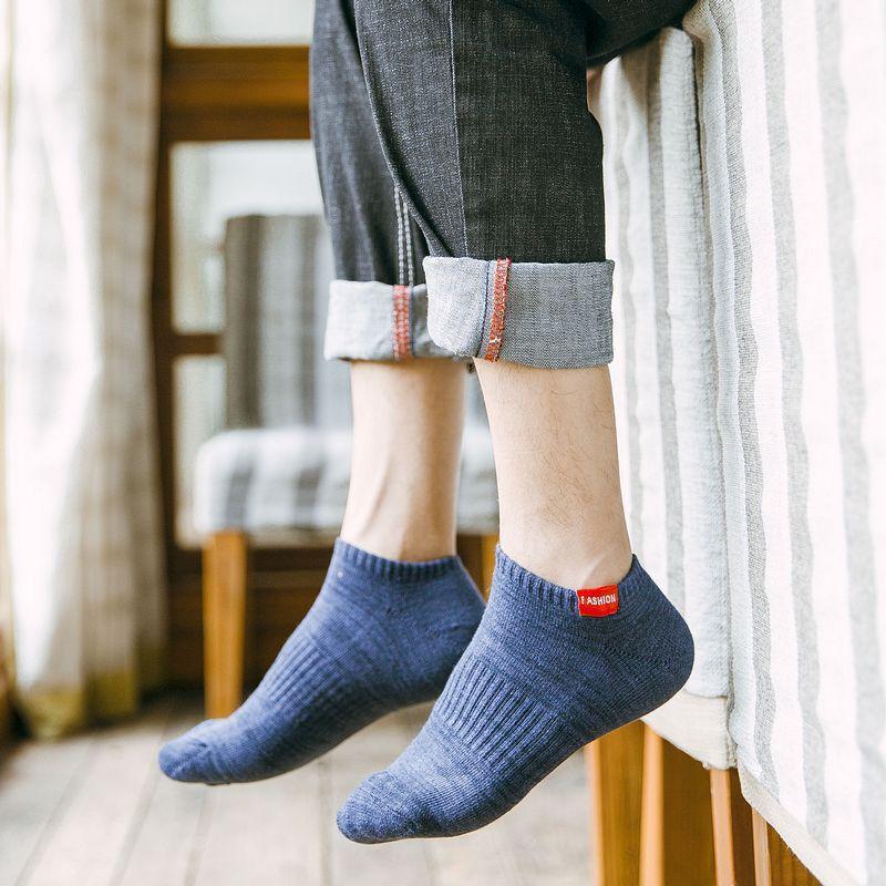 Fashion High Quality Short Socks for Men Cotton Sock Summer Casual Boat Socks Male Ankle Socks