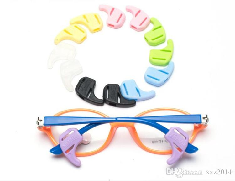 fec224715a5a 10prsHealthy Super Soft Kids Eyeglasses Ear Hook Silicone Candy Color Anti  Slip Ear Hook Lock Temple Tip Holder24 18eyewear Accessories Baby Sunglasses  Best ...