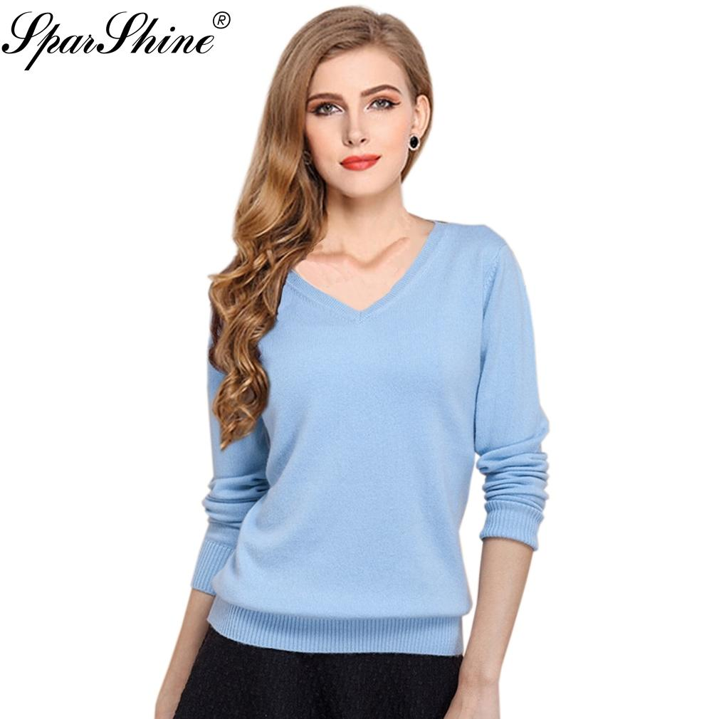 6974523ec20 Knitted Sweater Women Pullover Cashmere Casaco Feminino 2018 Sexy V Neck  Sweater Outerwear Pullover Tops Sueter Mujer D1891904 Summer Evening Dresses  Ladies ...