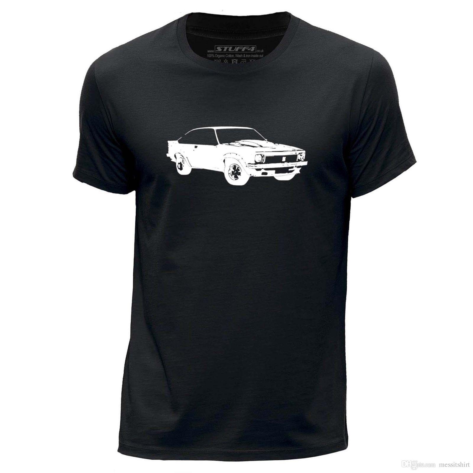 363cf1d33e42 STUFF4 Hommes Noir Col Rond T Shirt Stencil Art Voiture LX Torana A9X SZ Shirt  T Shirt Funny T Shirts Cheap From Messitshirt