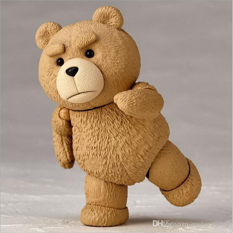 Movie TED 2 10cm Boxed Ted Teddy Bear BJD Figure Model Toys