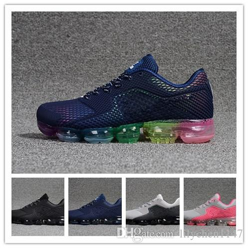 Newest 2018 Casual Shoes Vapormax 97 Men Airs Cushion Women Casual Vapor Shock Boost Jogging Hiking Athletic Shoes designer shoes 36-46 low shipping fee cheap online 2z9BOytk