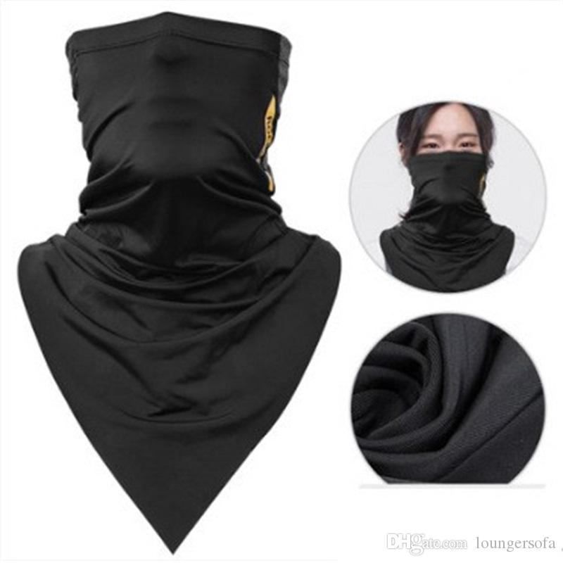 Absorb Sweat Ice Scarves Bicycle Bandana Breathable Magic Headscarf Hiking Camping Neck Gaiter Running Cycling Men Face Mask 30lk bbWW