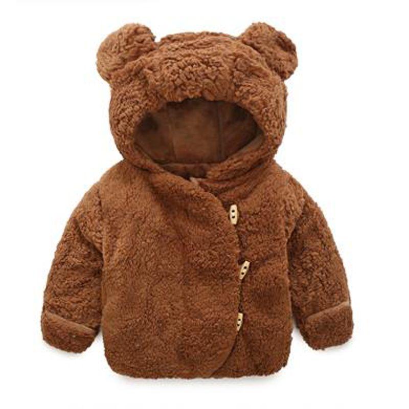 9e49de29b Baby Jacket Winter Infant Girls Clothes Newborn Warm Snowsuit ...
