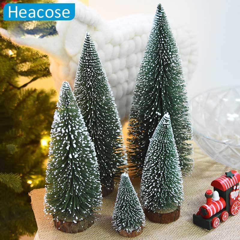 ef5548ad052 Compre Mini Árbol De Navidad Adorno Decoración De Navidad Regalo Natal  White Cedar Desktop Decoración De Navidad Para El Mercado Local Regalos De  Año Nuevo ...