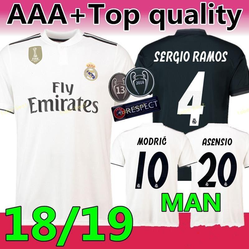 2c5a075b9b4 Thailand Quality 2018 2019 New Real Madrid Modric MODRIC KROOS ...