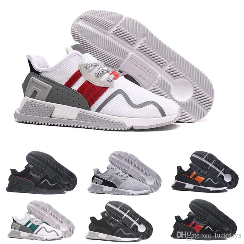 677349fb0 2018 EQT New Arrivals Low Cushion Running Shoes for Men Women Black ...