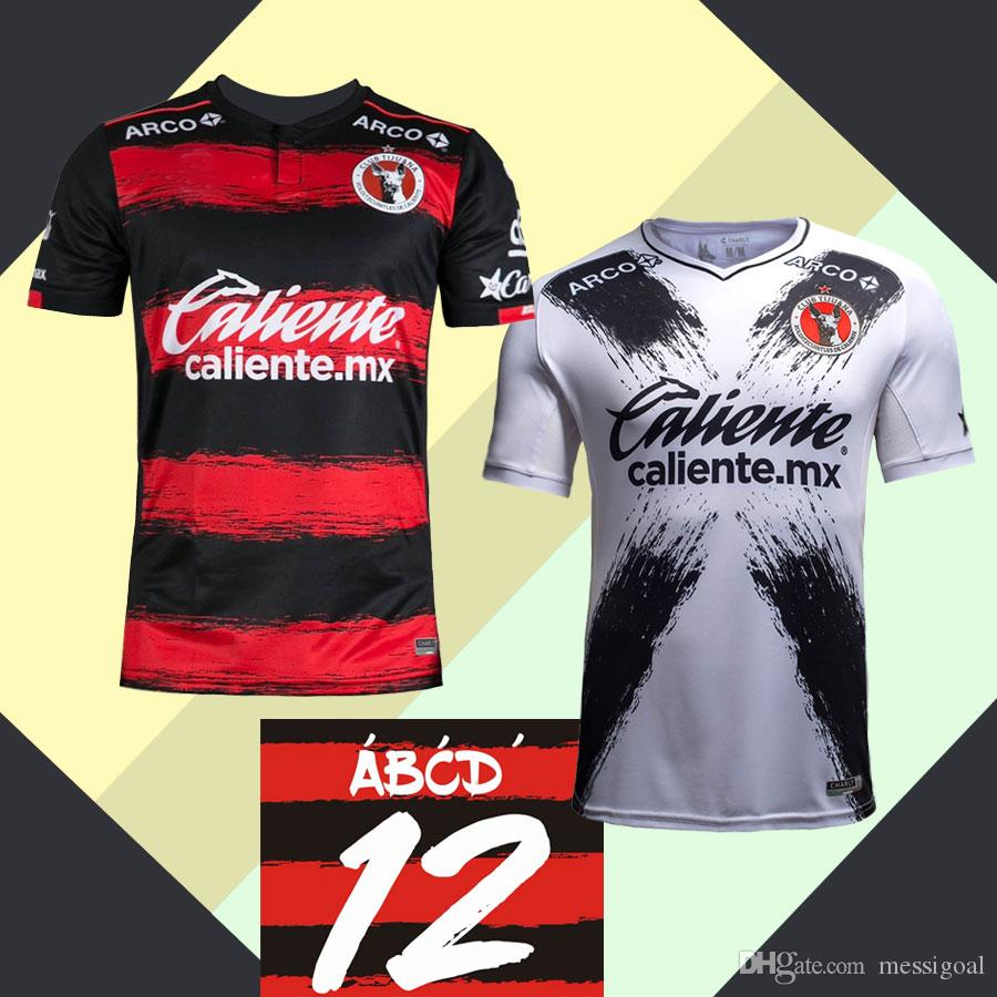 Top AAA Custom 2018 Tijuana Jersey 18 19 Local Visitante 2019 BOLANOS  RODRIGUEZ LUCERO GONZALEZ Futbol Camisa Xolos CLUB TIJUANA Maillot LIGA MX  Por ... bb366528b8c30