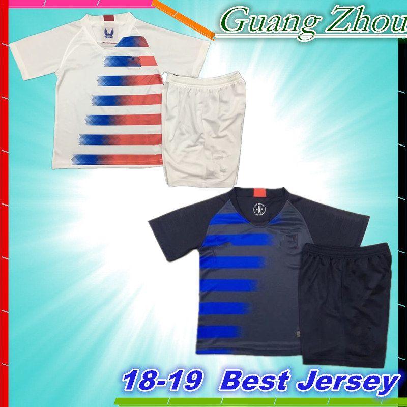 2019 USA Kids Kits 2018 2019 PULISIC Soccer Jersey 18 19 DEMPSEY BRADLEY  ALTIDORE WOOD America Youth Football Jerseys Child United States Shirt From  ... b8c868d88