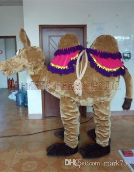 Compre Nuevo Traje De La Mascota Del Camello El Tamaño Adulto Del Envío  Libre 023f8b3c71e