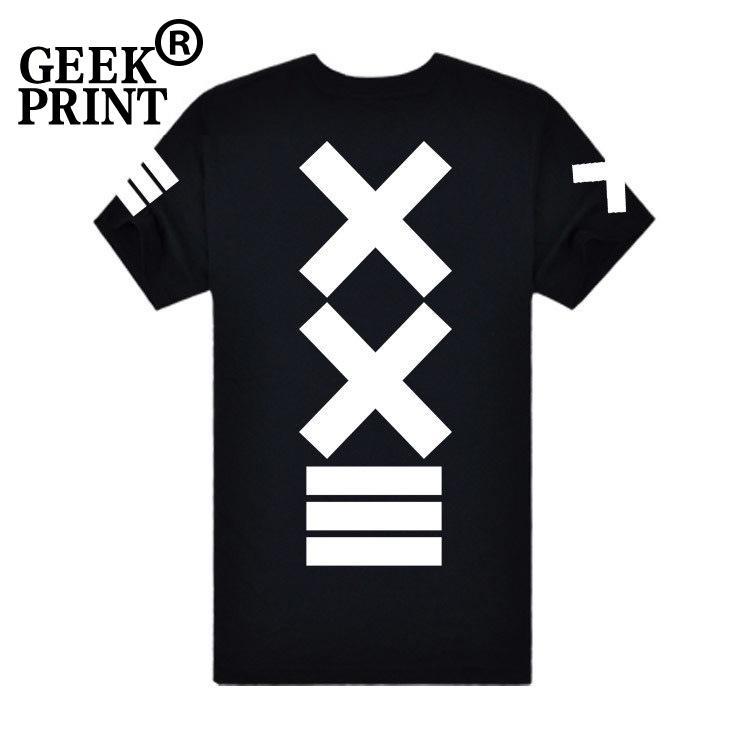 Compre 2018 Moda De Verano Hip HOP Hombres Camisetas Casual Imprimir XXIII  XX DIY Camiseta Hombres De Algodón De Manga Corta De Alta Calidad Tees 36 A  ... af5c34d498b