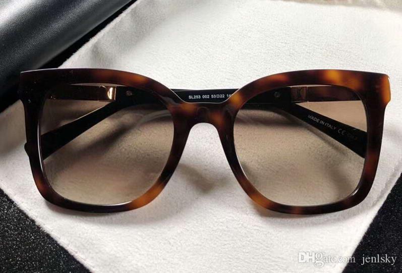 3767199bd2a Fashion SL253 Tortoise Brown Shades Square Sunglasses 53MM ...