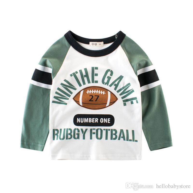 0bdb18a4a 2019 Boys T Shirt Kids Tees Baby Child Boy Cartoon Spring Children ...