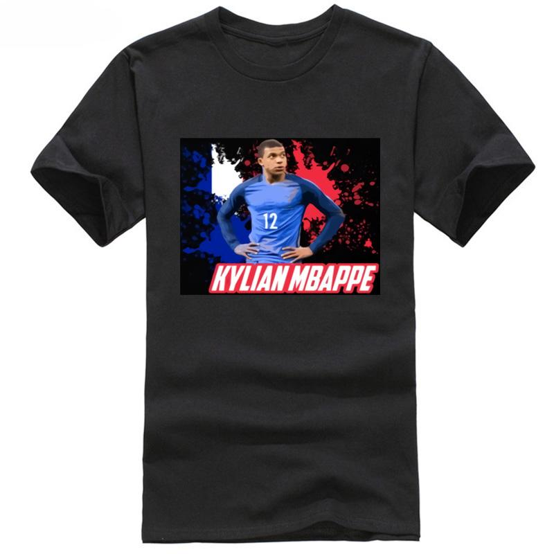 262f689e2ba Kylian Mbappe France Footballer World Fan T Shirt Cup All Size Soccersing  Number 12 Russian 7 T Shirt Funny Rude T Shirts From Funnyprintedtee, ...