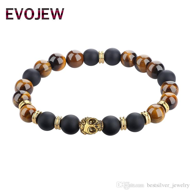 Jewelry & Watches Bracelets Onyx And Lava 925 Sterling Silver Gold Plate Bracelet Pearl Bracelet 12mm Durable Service