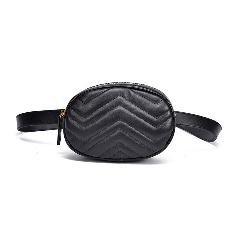 0d040b6d88c7 Fanny Pack Waist Bag Women Oval Belt Bag Luxury Brand Leather Chest Handbag  Red Black 2018 New Fashion Hight Quality School Backpacks Hiking Backpack  From ...