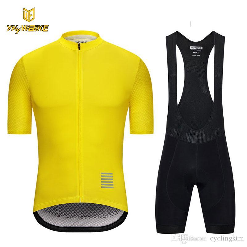 2018 Cycling Jersey Sets Pro Team MTB Breathable Cycling Bib Set ... 54ea65dcb