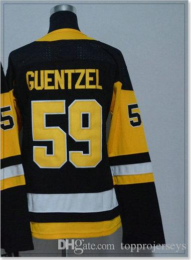 New Pittsburgh #30 Matt Murray 58 Kris Letang 59 Jake Guentzel Womens Ice Hockey Shirts Sports Pro Team Jerseys Stitched Embroidery For Sale