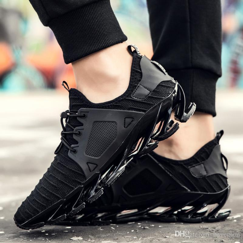 989a71e302f2 Hot Mens Fashion Springblade Drive Pocketknife Dm Lightweight Breathable  Lace Up Stylish Antiskid Walking Sneakers Athletic Sport Shoe Dress Shoes  For Men ...