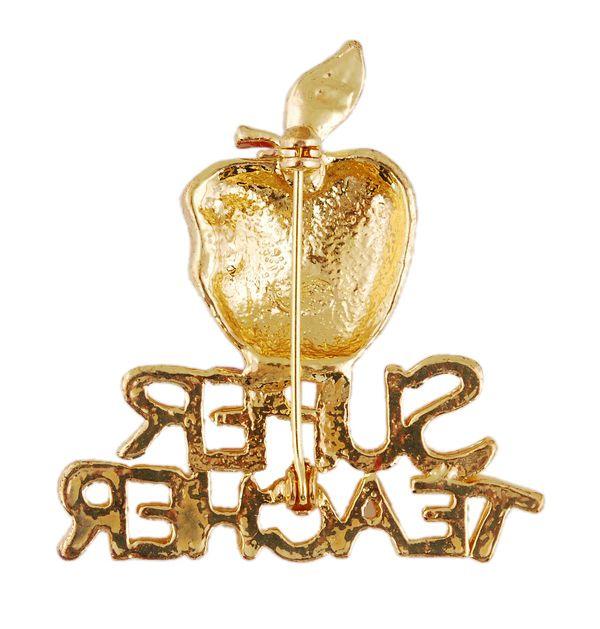 Accesorios de joyería de moda Broche de oro Navidad serie Rhinestone broche boda broche de oro para las mujeres