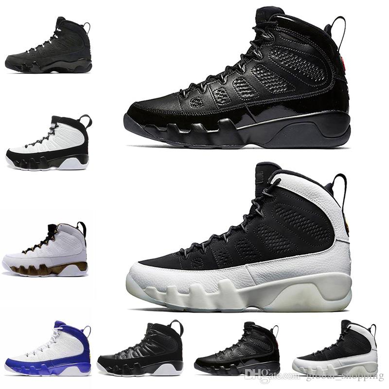 huge discount f4d72 2995f Wholesale cheap 2018 9s Men Basketball Shoes LA Anthracite Release baron 9s  Men Basketball Shoes Sneaker Size 7-13