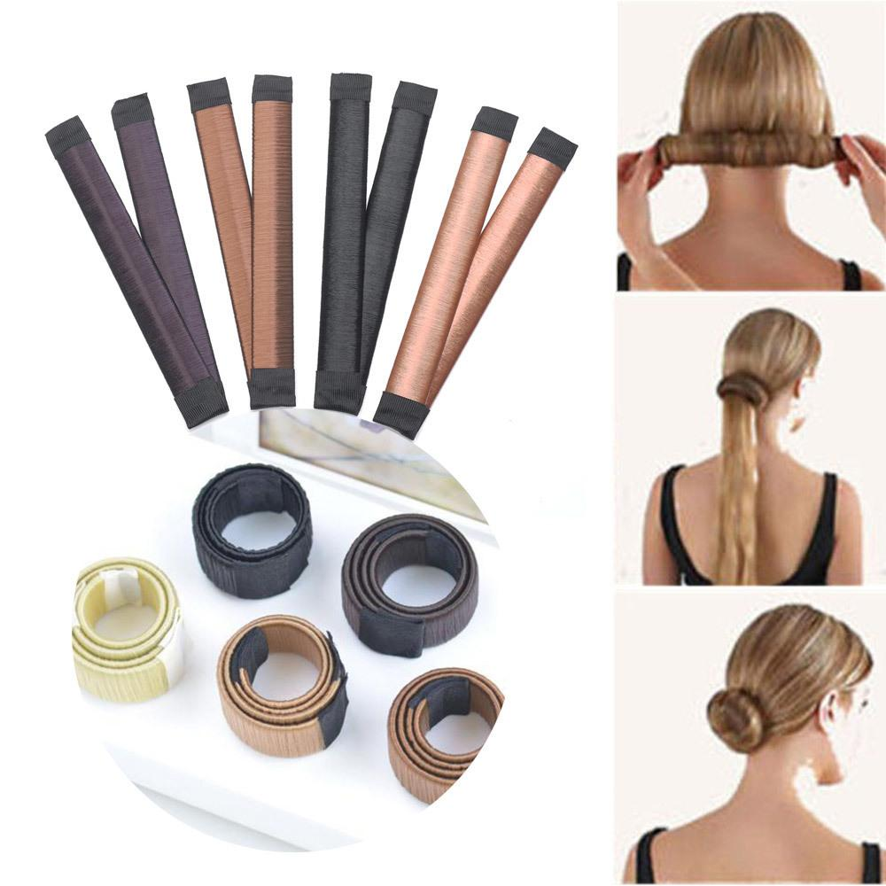 New Magic Hair Styling Tools Multi Function Hair Donut Girls
