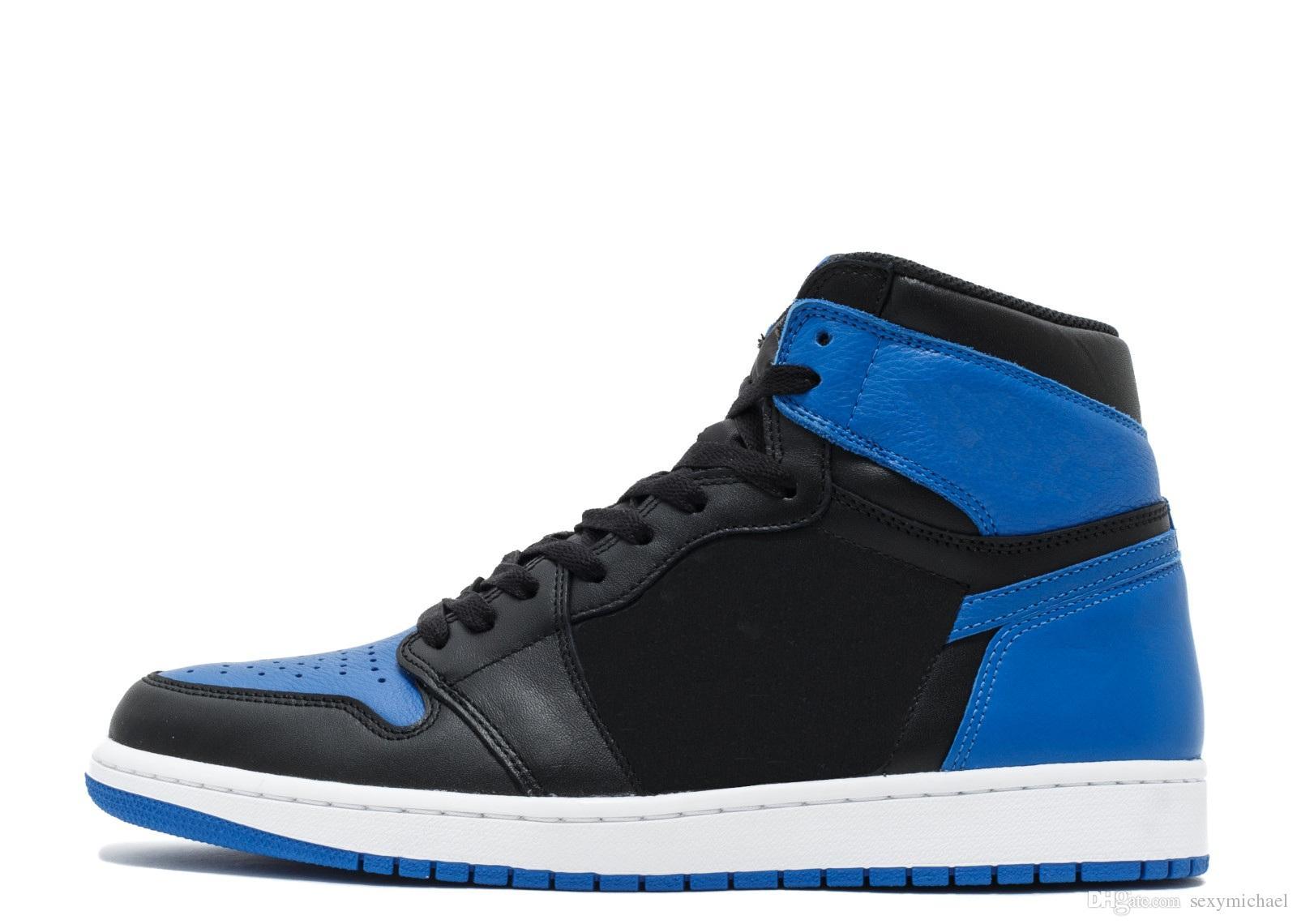 save off 89339 22886 ... De Deporte De Zapatos De Baloncesto Royal Blue Version Factory 1 Para  Hombre Nuevas Zapatillas De Deporte De Diseño De 2018 Con Cajas De Michael  Sports ...