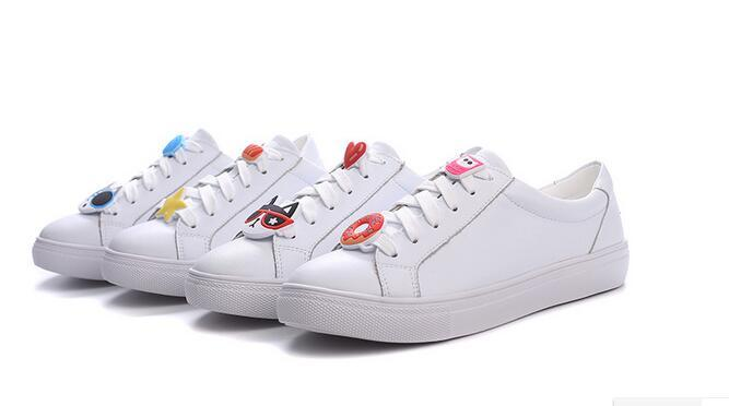 a1ecd5de7592 Factory Direct New Summer Buckle Small White Shoes Women S Leather Flat  Casual Shoes Is Very Popular Cheap Shoes Online Summer Shoes From Sweeter6