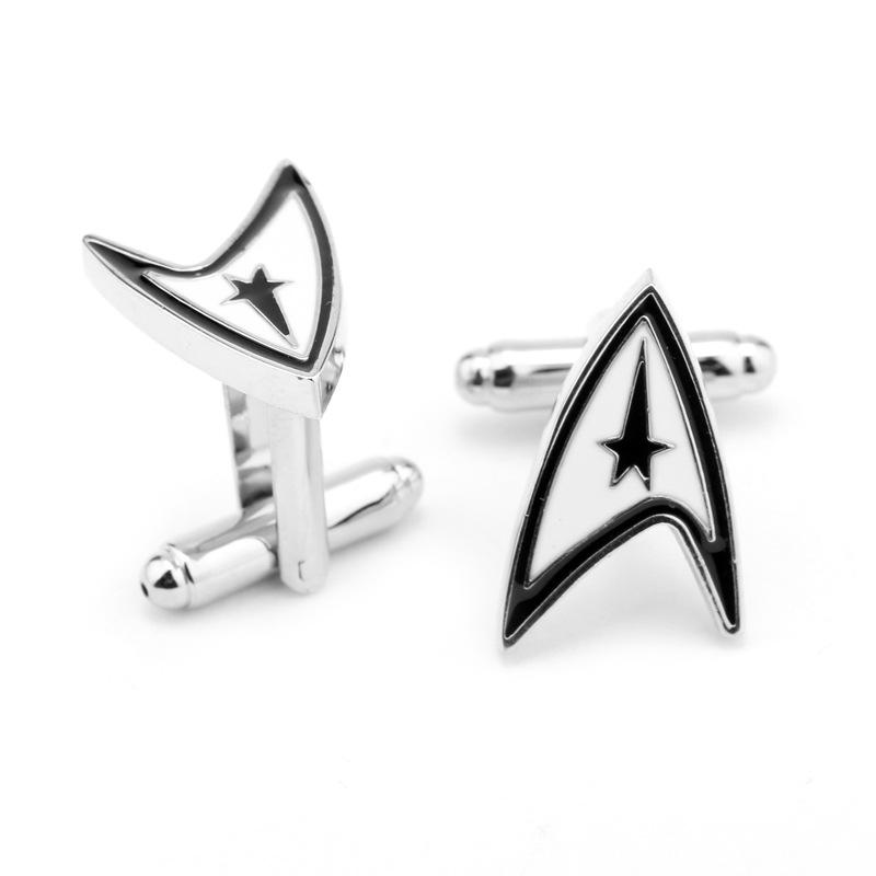 dongsheng Movie Star Trek Vintage Warship Cufflinks High Quality French Shirt Cuff Links Brand Cuff Button For Mens Gift-40
