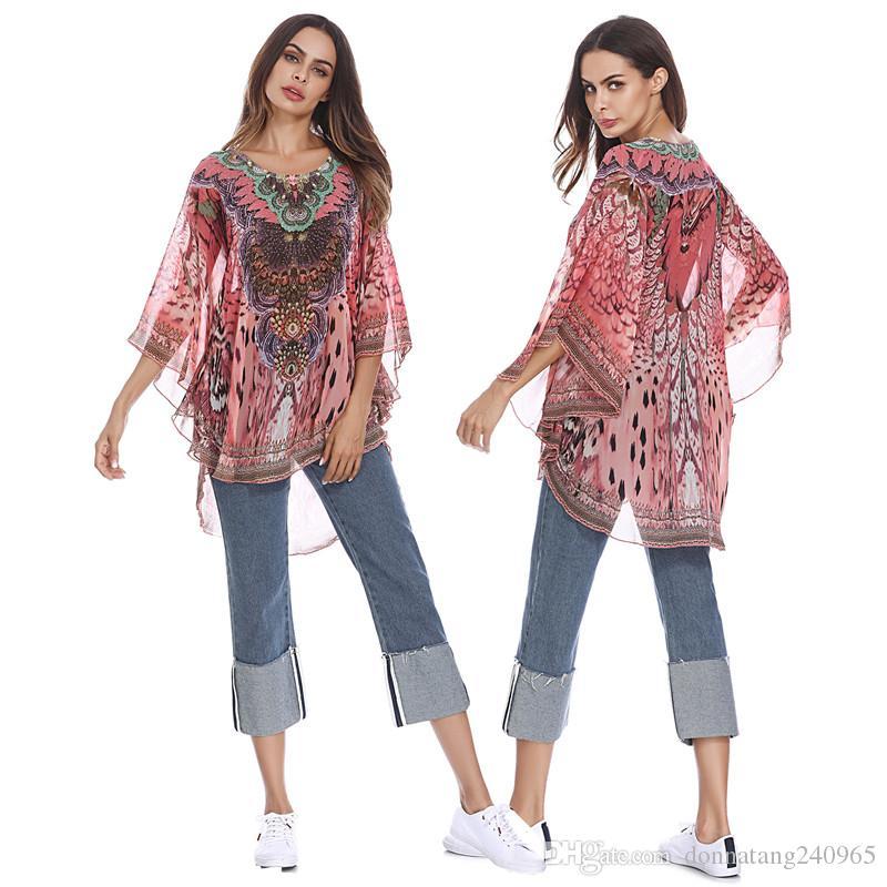 2a8cf3cdee14f Acheter 2018 Printemps Été En Mousseline De Soie Robe Musulmane Fleur  Islamique Hijab Robe Vêtements Haute Qualité Dubaï Musulmane Abaya Robe Pour  Femmes ...