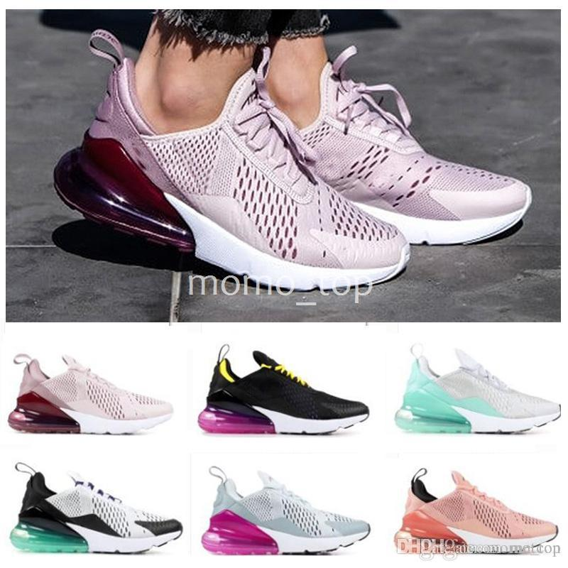 official photos cc151 9cda2 2018 Chaussures 270 Running Shoes For Women Gazelle Purple Pink White  Desginer Sneakers Air Shoe Sports Trainers Womens Sneaker 36-40 Running  Shoes for Mens ...