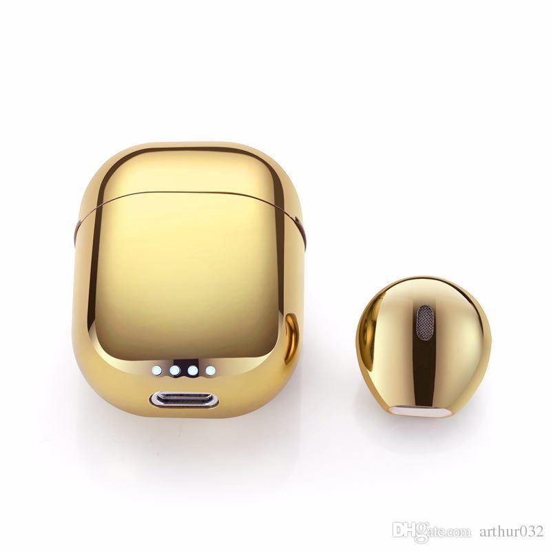 Mini IP8 Kopfhörer mit Charge Box Charger Case Ohrhörer Bluetooth Wireless 4.2 Musik Kopfhörer für Iphone 6 7 IOS Luft Xiaomi Schoten