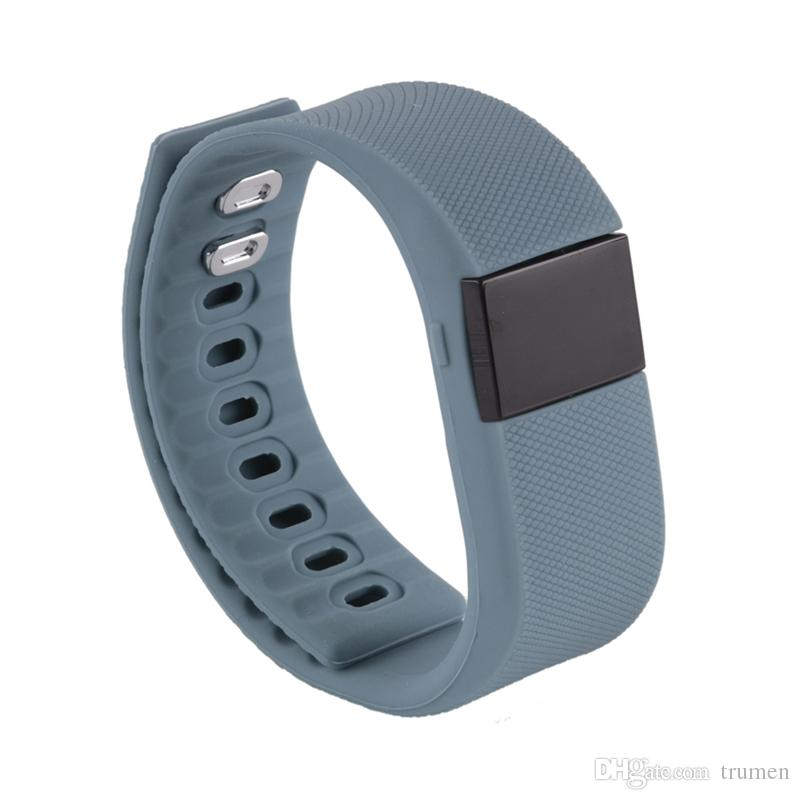 TW64 Bluetooth Smart band fitbit wrist activity sleep wristband Smart Bracelet For IOS Android iPhone 8 Plus 7 6S Smart