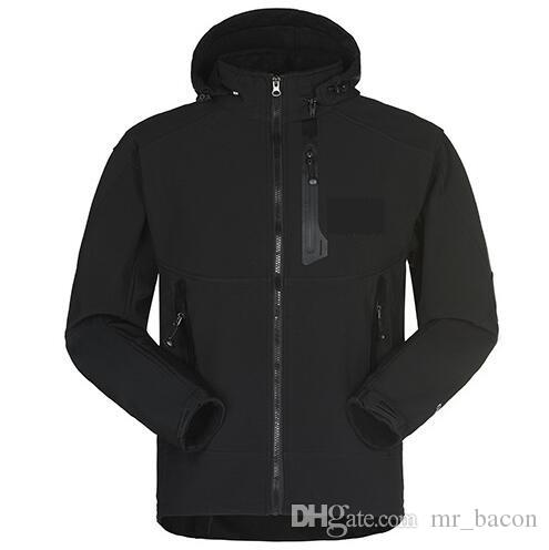 d5ff42a03cf Men Waterproof Breathable Softshell Jacket Men Outdoors Sports Coats ...
