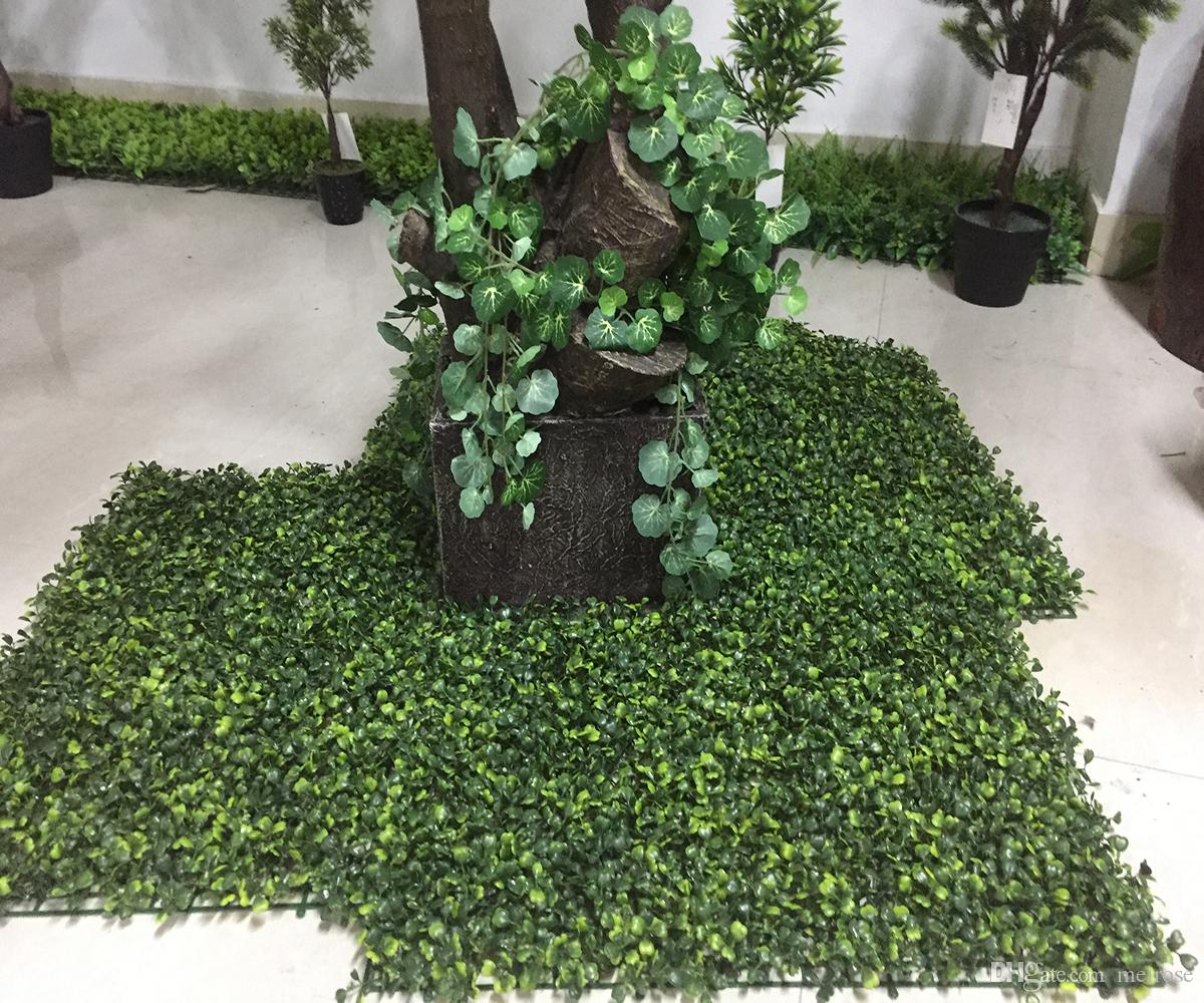 UV Quality Artificial Grass Turf indoor/outdoor 60cm x 40cm Fake Grass Boxwood Green Wall Natural & Realistic Looking Garden Lawn 125 -8009