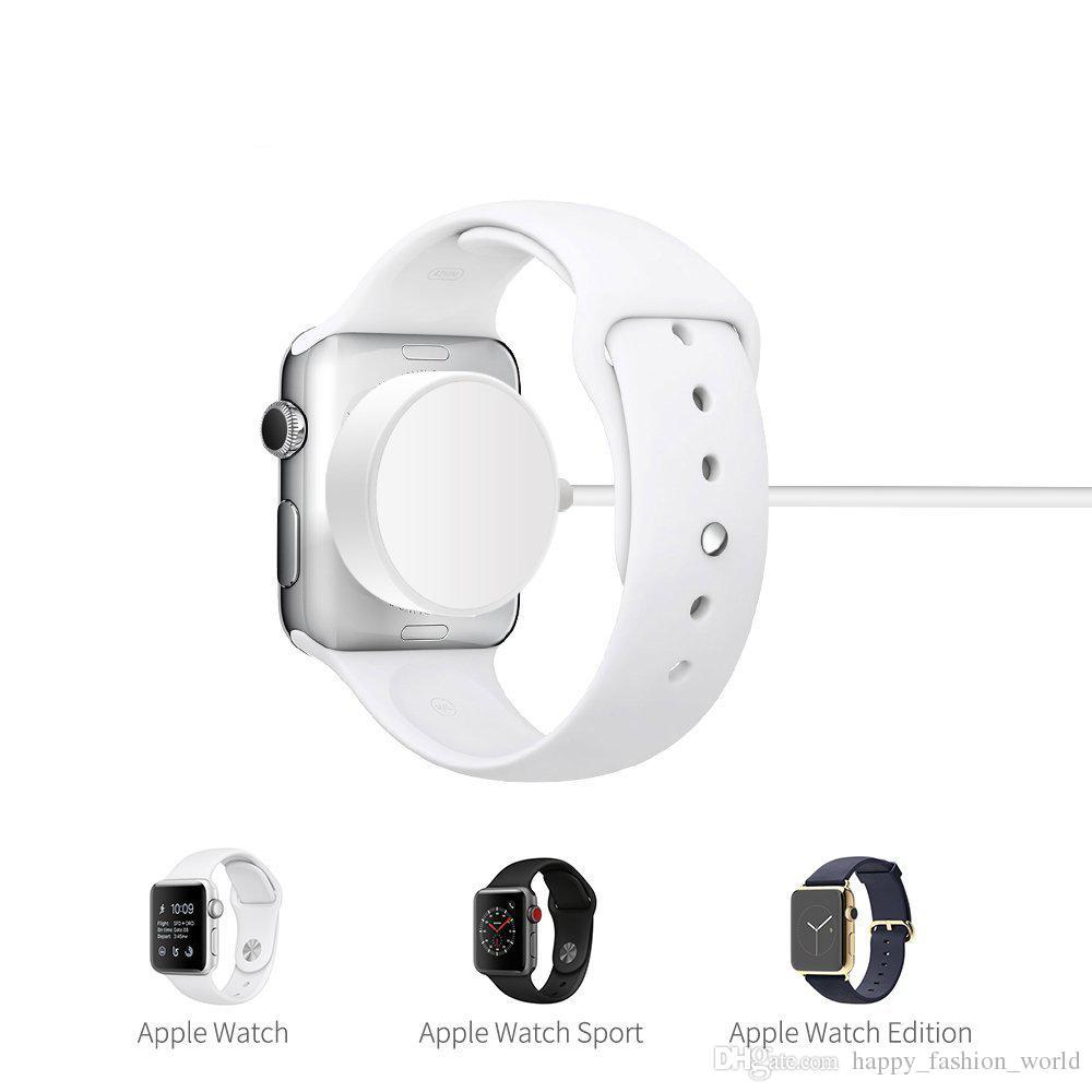 ca98178aa8d ... Cargador Inalámbrico Para IWatch Series1 2 3 Cable De Carga IWatch  Magnético Certificado Por USB MFi 3.3 Pies / 1 Metro Para El Cargador De  Apple Watch ...