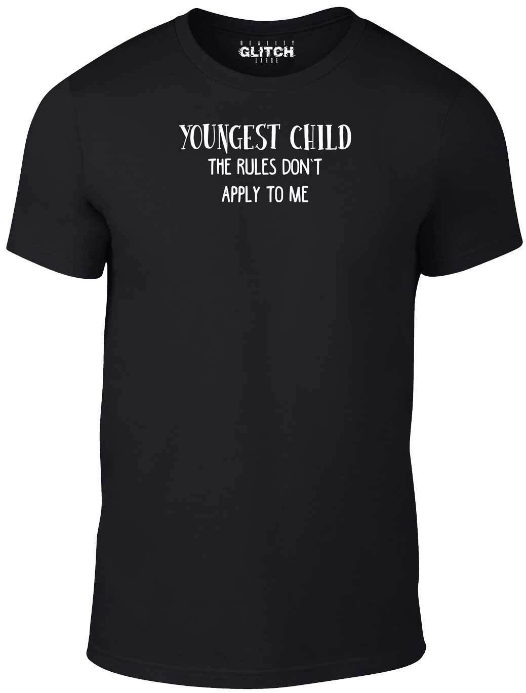 ffbbec2e7 Kids Youngest Child T Shirt Funny Childrens Tshirt Family Rules Brother  Sister Cool Shirts Online All Shirts From Linnan00009, $14.67| DHgate.Com