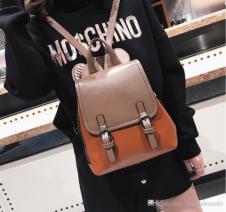 54907709594 Ladies Fashion Casual Bag. Women S Bags. College Style. Leisure Bag. PU  Backpack. Handbag. Cross Body. Shoulder Bags.Totes. AF280 Camping Backpack  Backpacks ...