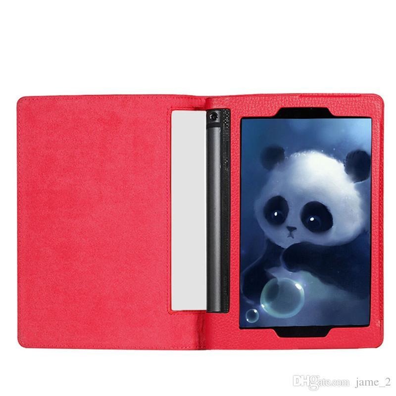 Ledertasche für Lenovo YOGA Tab 3 10.1 Yt3-x50m Yt3-X50F Litschi Tablet-Fall-Abdeckung für Lenovo YOGA Tab 3 Yt3-x50m X50f Funda