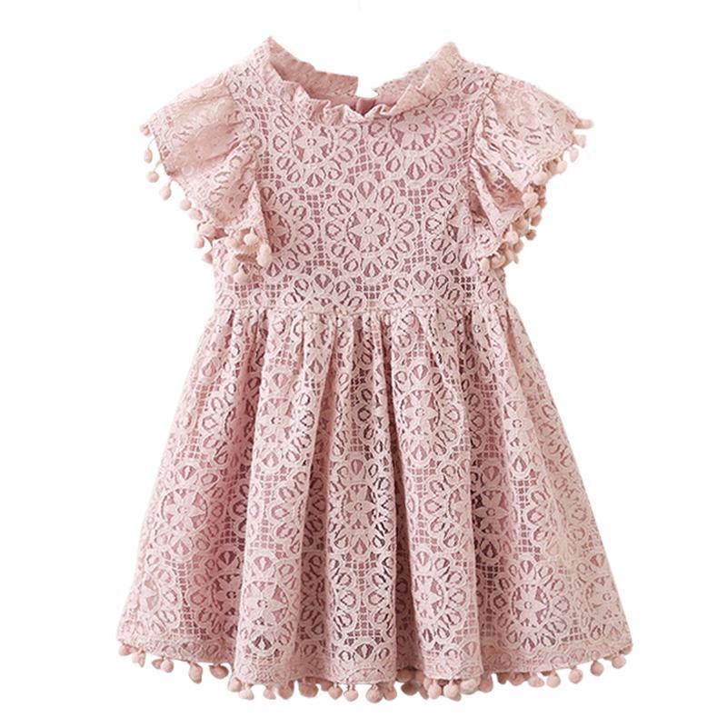 Großhandel Kinder Mädchen Ballkleid Kleid Neu Weiß Kleinkind Mädchen ...